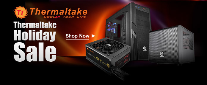 Thermaltake Holiday Banners