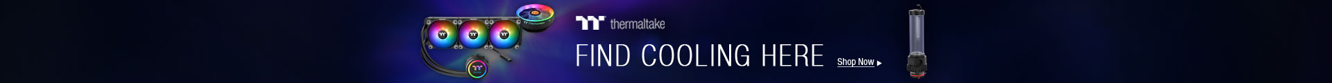 Thermaltake Find Cooling Here