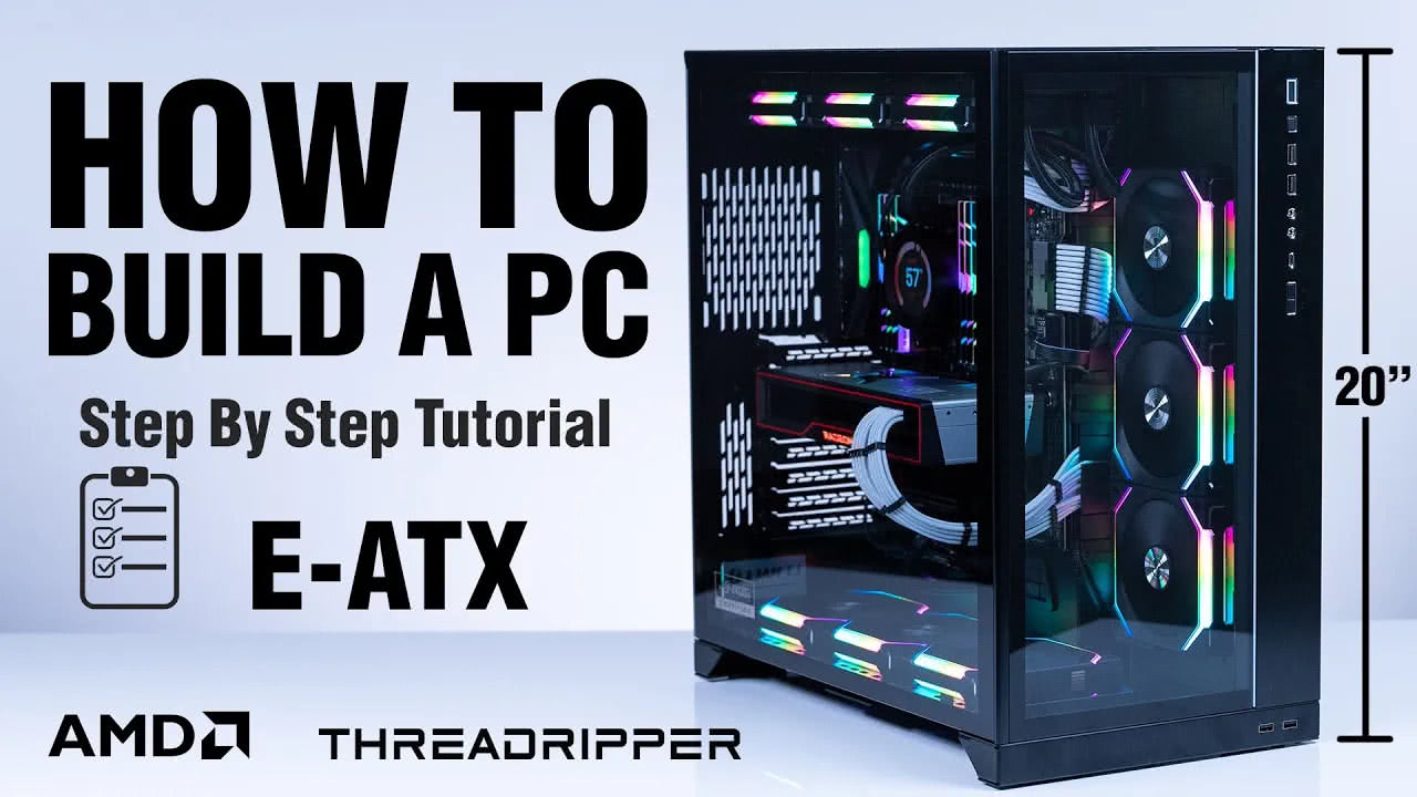 How To Build An E-ATX PC (Threadripper!)