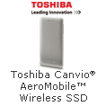 Toshiba Canvio AeroMobile Wireless SSD