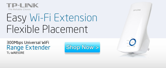 Easy Wi-Fi Extension Flexible Placement