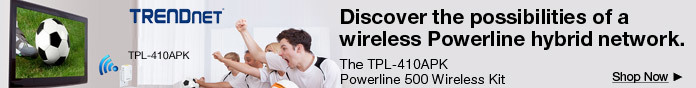 Discover the possibilities of a wireless Powerline hybrid network
