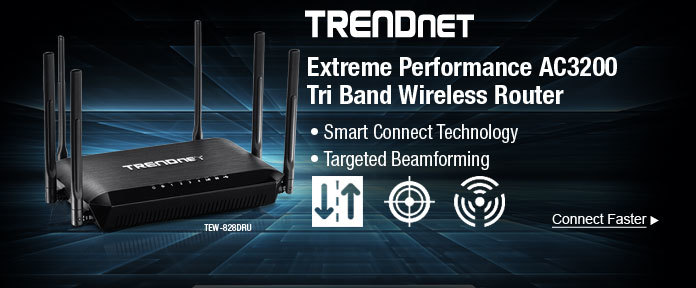 Extreme Performance AC3200 Tri Band Wireless Router