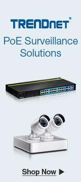 TRENDnet PoE Surveillance Solutions