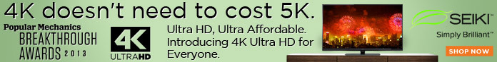 4K doesn't need to cost 5K