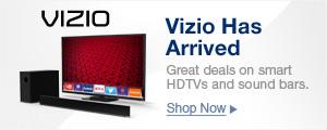 VIZIO has arrived shop now
