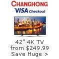 CHANGHONG VISA Checkout
