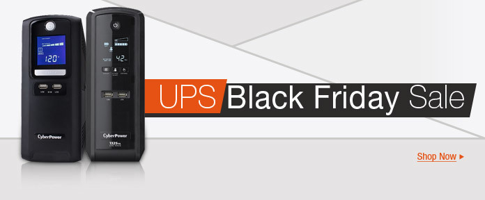 Black Friday UPS Sale