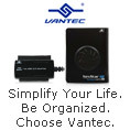 Simplify Your Life, Be Organized. Choose Vantec.