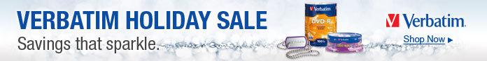 Verbatim Holiday Sale