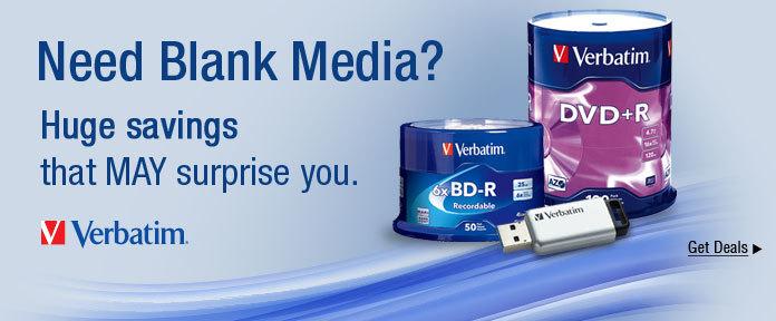 Need Blank Media?