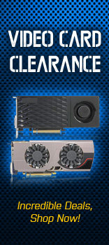 Video Cards Clearance