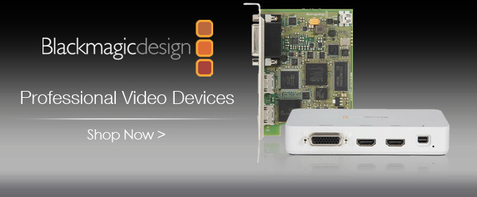 Professional video devices