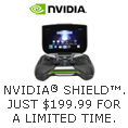 NVIDIA SHIELD JUST $199.99 FOR A LIMITED TIME