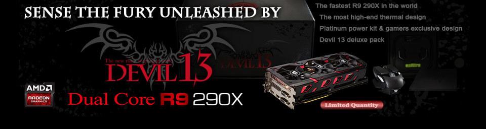 Dual Core R9 290X