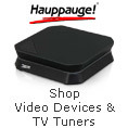 Hauppauge Video Devices & TV Tuners