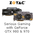 Serious gaming with GeForce GTX980 & 970
