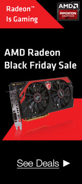 AMD redeon Black Friday Sale