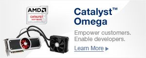 AMD Catalyst™ Omega Driver