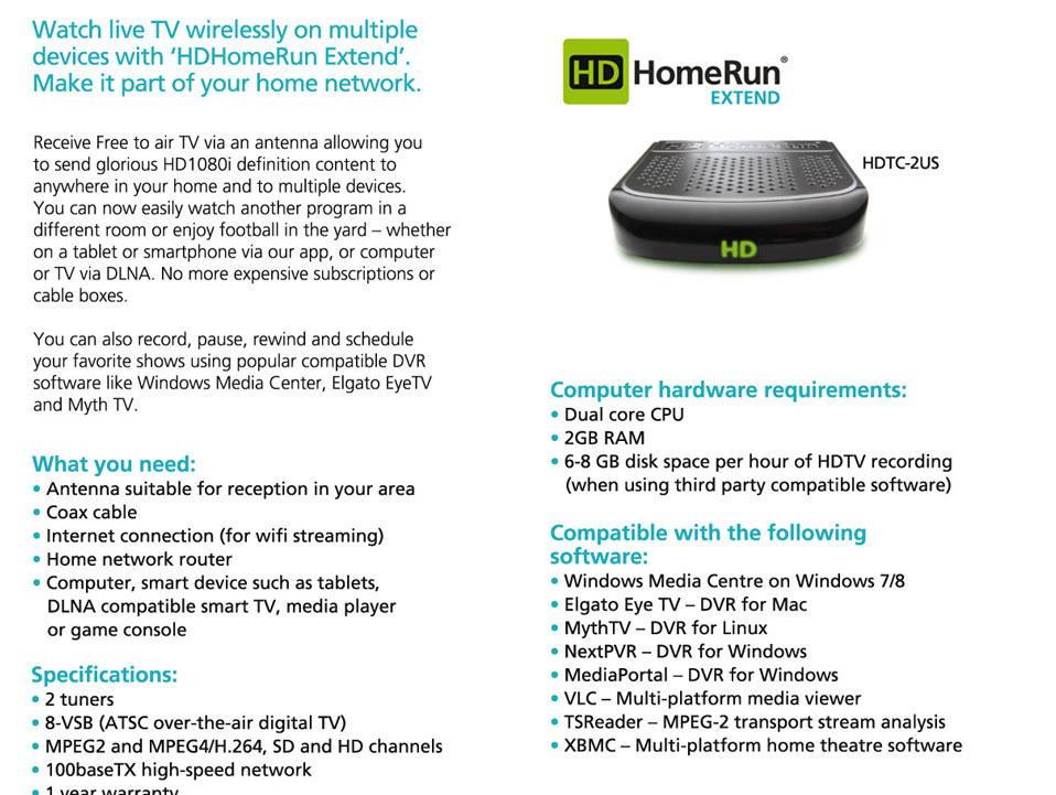 Newegg com - HDHomeRun Extend and the NEW Nexus Player