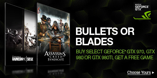 BULLETS OR BLADES