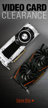 Video Card Clearance