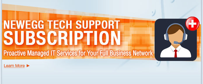 NEWEGG TECH SUPPORT SUBSCRIPTION