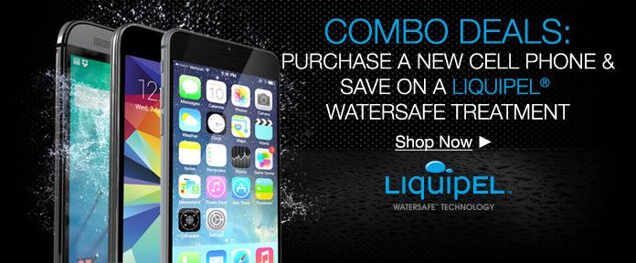 Cell Phone & Liquipel Combo Deals