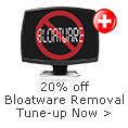 20% off bloatware removal