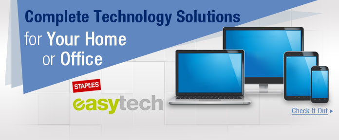 Complete Technology Solutions for Your Home or Office