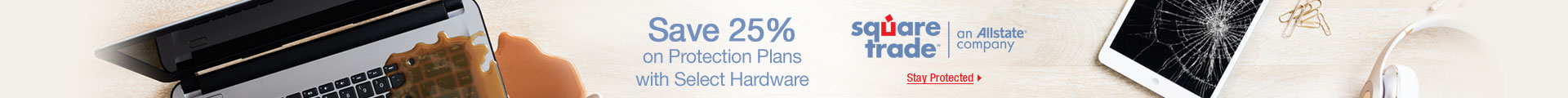 Save 25% on Protection Plans with Select Hardware