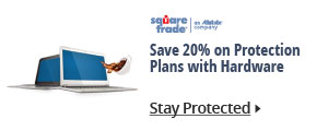 Save 20% on protection plans with hardware