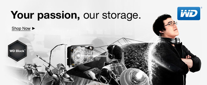 Your passion, our storage