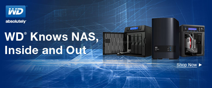 WD knows NAS,inside and out