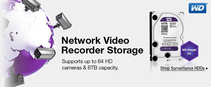 Network Video Recorder Storage