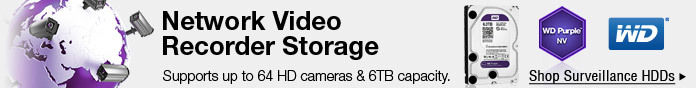 Network Video Recorder Storage