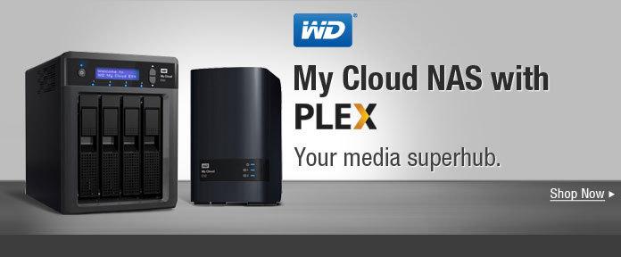 WD — My Cloud NAS with PLEX
