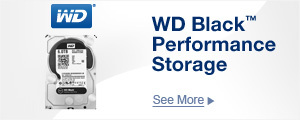 WD Black Performance Storage