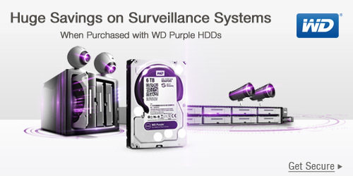 Huge Savings on Surveillance Systems