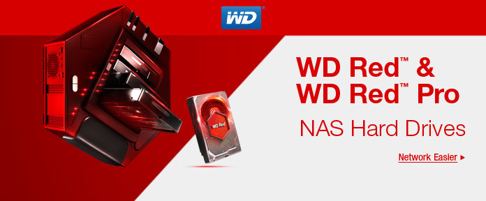 WD Red™ & WD Red™ Pro NAS Hard Drives