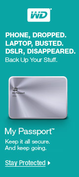 WD - BACK UP YOUR STUFF