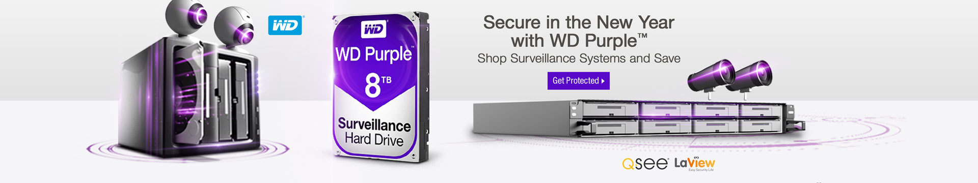 Secure in the New Year with WD Purple