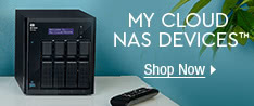 MY CLOUD NAS DEVICES