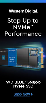 Step Up to NVMe™ Performance