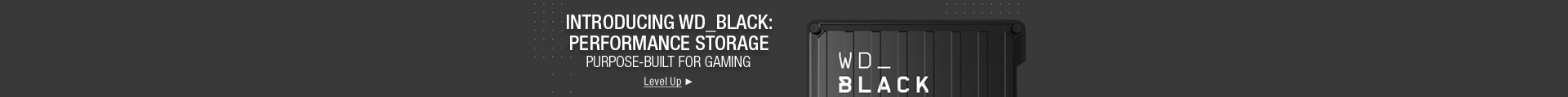 Introducing WD_BLACK: performance storage