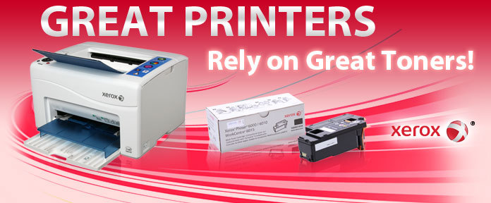 GREAT PRINTERS Rely on Great Toners!