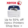 Save Up to 50% on Xerox Printers