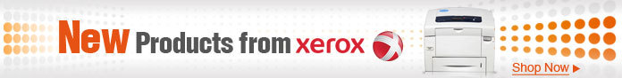 New products from Xerox