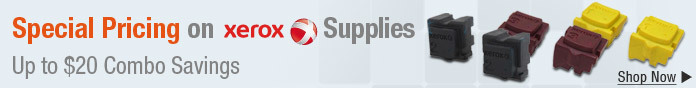 Special Pricing on Xerox Supplies