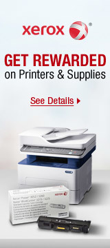 Get Rewarded on Select Printers & Supplies